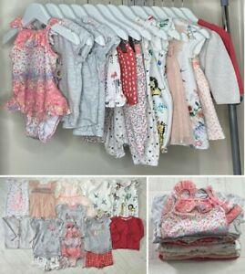 14x BABY GIRLS SUMMER CLOTHES BUNDLE – 3-6 MONTHS - USED - EXCELLENT CONDITION