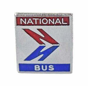 Vintage Old National Bus Company Logo Enamel Badge
