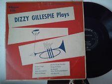 LP 25 cm DIZZY GILLESPIE-DIZZY GILLESPIE PLAYS-GROOVIN HIGH + 7