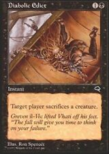 4x Diabolic Edict MTG Tempest NM Magic Regular