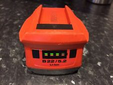 Hilti B 22/5.2Ah potente batteria al litio. 22 V