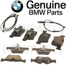 For BMW F22 F23 F30 F31 F32 F33 F34 F36 Pair 2 Brake Pad Sets & Sensors Kit OES