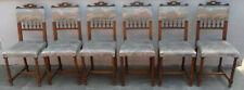 6 original antike Stühle Stuhl Gründerzeit gepolstert um1870 Gründerzeitstühle