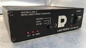 LP LAKE PEOPLE A/S-CON C25 AES-EBU to SDIF-2 Konverter