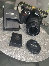 NIKON D5200 CAMERA With 18-55MM VR LENS With Nikon Neck Strap