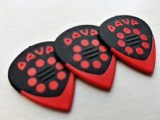 DAVA Control Guitar PICKS jazz grip Delrin 3 PICKS