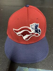 Somerset Patriots OC Sport Minor-league Red Fit Hat Size Large-Extra large