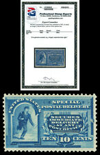 Scott E2 1888 10c Special Delivery Mint F-VF HR Cat $500 with PSE CERTIFICATE!