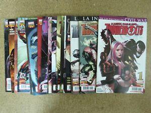 Thunderbolts.Lote 19 comics.Marvel.Panini