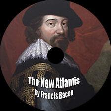 The New Atlantis, Francis Bacon, MP3 Audiobook 1 CD