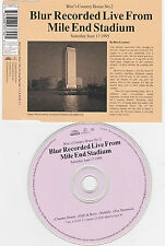 MAXI CD SINGLE 4T BLUR RECORDED LIVE FROM MILE END STADIUM 1995