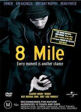 8 Mile - Brittany Murphy NEW R4 DVD