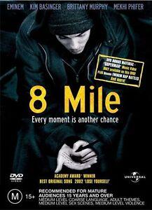 8 Mile DVD Free Post