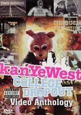 W2 BRAND NEW College Dropout:Video Anthology by Kanye West (DVD,2005, 2 Discs)