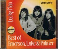 Emerson,Lake & Palmer Lucky Man Best of Zounds Gold CD