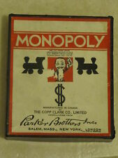 1936 Monopoly. First Canadian Edition.  All wood Pieces
