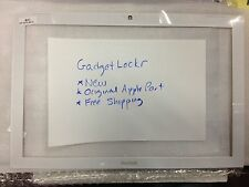"""Apple 13"""" Macbook LCD Screen Front Bezel White Display Frame NEW A1181"""