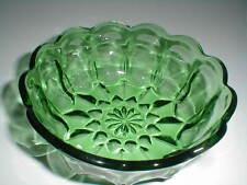 "Anchor Hocking Glass Emerald Green FAIRFIELD 6""  Individual Salad Bowl"