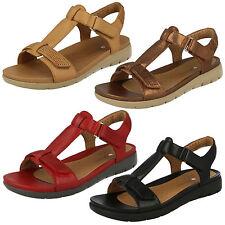 Sandali e scarpe casual rossa per il mare da donna 100% pelle