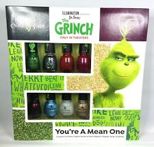 Mini China Glaze Nail Lacquer - il Grinch - 8 Colori x 3.7ml/3.6ml