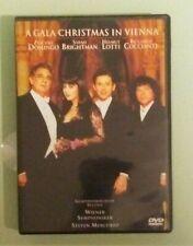 A GALA CHRISTMAS IN VIENNA domingo / brightman / lotti / mercurio DVD