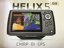 New in Box Humminbird Helix 5 G2 DI GPS Fish Finder Combo 410220-1