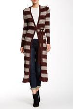 Vertigo Long Striped Cardigan Sz XL