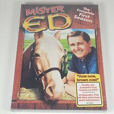Mister Ed : The Complete First Season 1 (4 DVD Set) 1st Season Four Disc Set NEW