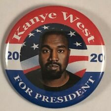 Kanye West For President 2020 Campaign Button