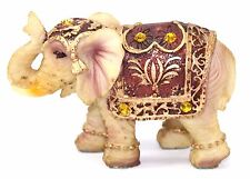 """Feng Shui 3""""(H) Vintage Elephant Trunk Statue Lucky Figurine Gift & Home Decor"""