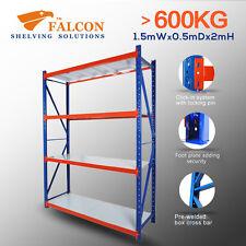 Longspan Storage Warehouse Garage Shelving Racking Rack Shelves, 1.5Wx0.5Dx2mH S