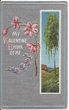 Postcard - Valentine Card (1910) Embossed