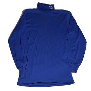 Vintage Majestic New York Giants Mock Neck Turtleneck Long Sleeve Shirt Men's M