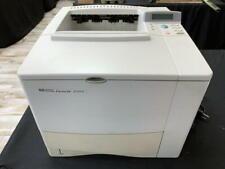 Used HP LaserJet 4100N LaserJet Workgroup Network Printer w/warranty - NO TONER