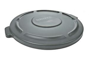 Rubbermaid Commercial Products FG264560GRAY BRUTE Heavy-Duty 44 Gallon, Gray