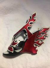 Prada Flame Shoe Figurine From The Met