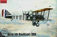Roden 423 - 1/48 - De Havilland DH9 WWI British bomber 1917 model kit