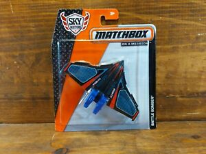 2015 Matchbox Skybusters On A Mission Battle Bomber Diecast NEW