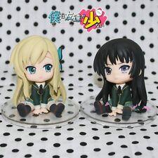 2pcs Boku wa tomodachi ga sukunai Kashiwazaki Sena/Mikazuki Yozora 7cm Figure WB