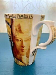 Fathi Mahmoud Cup Mug Egyptian Hieroglyphics Made in Egypt