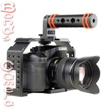 FHUGEN HONU V2.0 VIDEO CAGE Kit with Top Handle & HDMI Clamp for GH3 GH4 A7 A7R