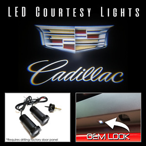 Lumenz C3 LED Courtesy Logo Lights Ghost Shadow for Cadillac 100573