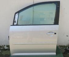 2)VW Touran 1T linke Tür komplett VL Fahrertür silbermet LA7W 2008 *kl Dellen*