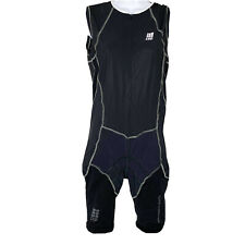 NWT CEP Women size XL compression Chamois Padded Cycling Tri Suit Skinsuit V