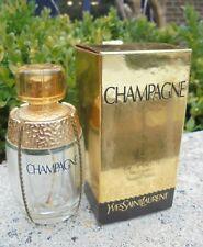 Flacon vide YSL champagne 50 ml avec sa boite collector D2717