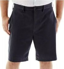 NEW NWT! Claiborne Men's Shorts Flat Front Size 48 Galaxy Grey (Gray) MSRP $50