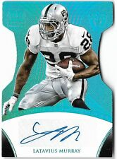 LATAVIUS MURRAY 2015 PANINI CROWN ROYALE SIGNATURES AUTO AUTOGRAPH CARD #1/1!
