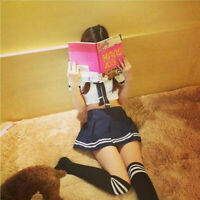 Women Sexy lingerie Sailor Uniforms Temptation Cosplay Pure Schoolgirl Costume