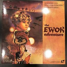 1984 'The Ewok Adventure' Movie Laser Disc Star Wars George Lucas EUC