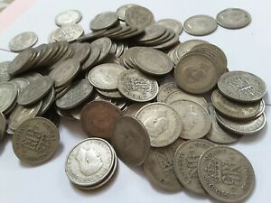 King George VI Lucky Sixpence 1941 - Choose your coin